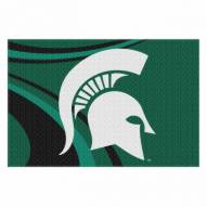 """Michigan State Spartans 39"""" x 59"""" Area Rug"""