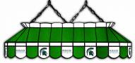 "Michigan State Spartans 40"""" Stained Glass Pool Table Light"