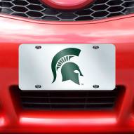 Michigan State Spartans Acrylic License Plate