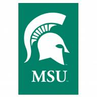 Michigan State Spartans Double Sided Applique Garden Flag
