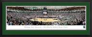Michigan State Spartans Basketball Deluxe Framed Panorama