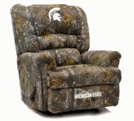 Michigan State Spartans Big Daddy Camo Recliner