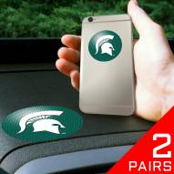 Michigan State Spartans Cell Phone Grips - 2 Pack