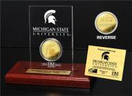 Michigan State Spartans Etched Acrylic