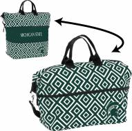 Michigan State Spartans Expandable Tote Bag