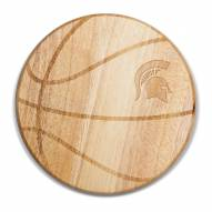 Michigan State Spartans Free Throw Cutting Board