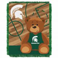 Michigan State Spartans Fullback Baby Blanket