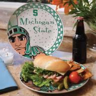 Michigan State Spartans Gameday Ceramic Plate