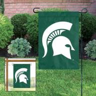 Michigan State Spartans Garden Flag