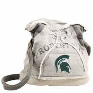 Michigan State Spartans Hoodie Duffle