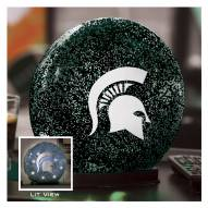 Michigan State Spartans Indoor LED Glass Globe