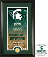 Michigan State Spartans Legacy Bronze Coin Photo Mint