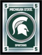 Michigan State Spartans Logo Mirror