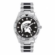 Michigan State Spartans Men's Heavy Hitter Watch