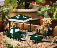 Michigan State Spartans Mini Tailgate Garden Set