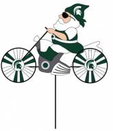 Michigan State Spartans Motorcycle Wind Spinner