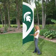 Michigan State Spartans NCAA Tall Team Flag