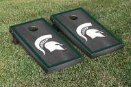 Michigan State Spartans Onyx Stained II Cornhole Game Set