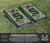 Michigan State Spartans Operation Hat Trick Cornhole Game Set