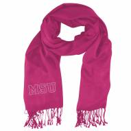 Michigan State Spartans Pink Pashi Fan Scarf