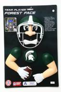 Michigan State Spartans Player Tree Face