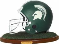Michigan State Spartans Replica Football Helmet Figurine