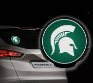 Michigan State Spartans Light Up Power Decal