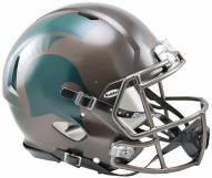 Michigan State Spartans Riddell Speed Full Size Authentic Bronze Football Helmet