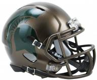 Michigan State Spartans Riddell Speed Mini Replica Bronze Football Helmet
