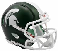 Michigan State Spartans Riddell Speed Mini Replica Satin Football Helmet