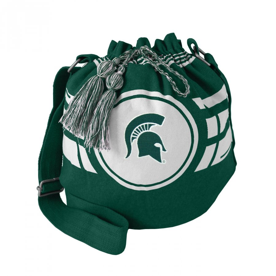 Michigan State Spartans Ripple Drawstring Bucket Bag