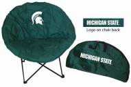 Michigan State Spartans Rivalry Round Chair