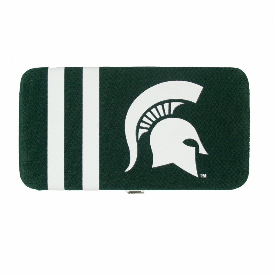 Michigan State Spartans Shell Mesh Wallet