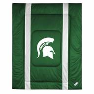 Michigan State Spartans Sidelines Bed Comforter