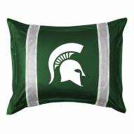 Michigan State Spartans Sidelines Pillow Sham