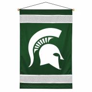 Michigan State Spartans Sidelines Wall Hanging