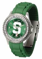 Michigan State Spartans Sparkle Women's Watch