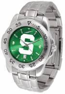 Michigan State Spartans Sport Steel AnoChrome Men's Watch