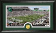 Michigan State Spartans Stadium Bronze Coin Panoramic Photo Mint