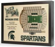 Michigan State Spartans Stadium View Wall Art