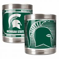 Michigan State Spartans Stainless Steel Hi-Def Coozie Set