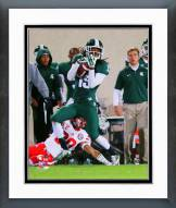 Michigan State Spartans Trae Waynes 2014 Action Framed Photo