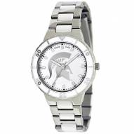 Michigan State Spartans Womens Pearl Watch