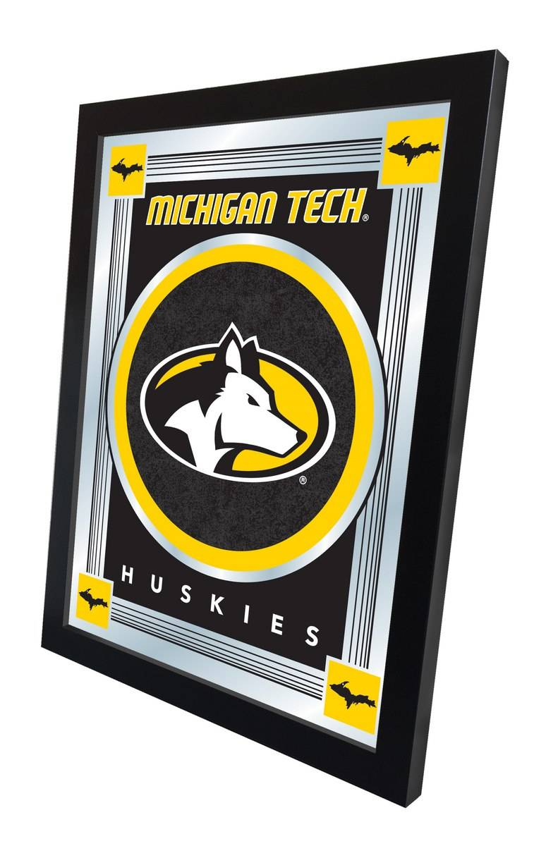 Michigan Tech Huskies Logo Mirror