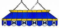 """Michigan Wolverines 40"""""""" Stained Glass Pool Table Light"""