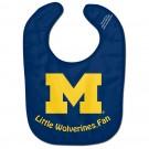 Michigan Wolverines All Pro Little Fan Baby Bib