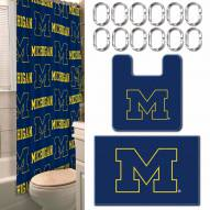 Michigan Wolverines Bathroom Set