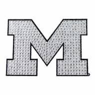 Michigan Wolverines Bling Car Emblem