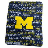 Michigan Wolverines Classic Fleece Blanket