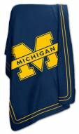 Michigan Wolverines NCAA Classic Fleece Blanket